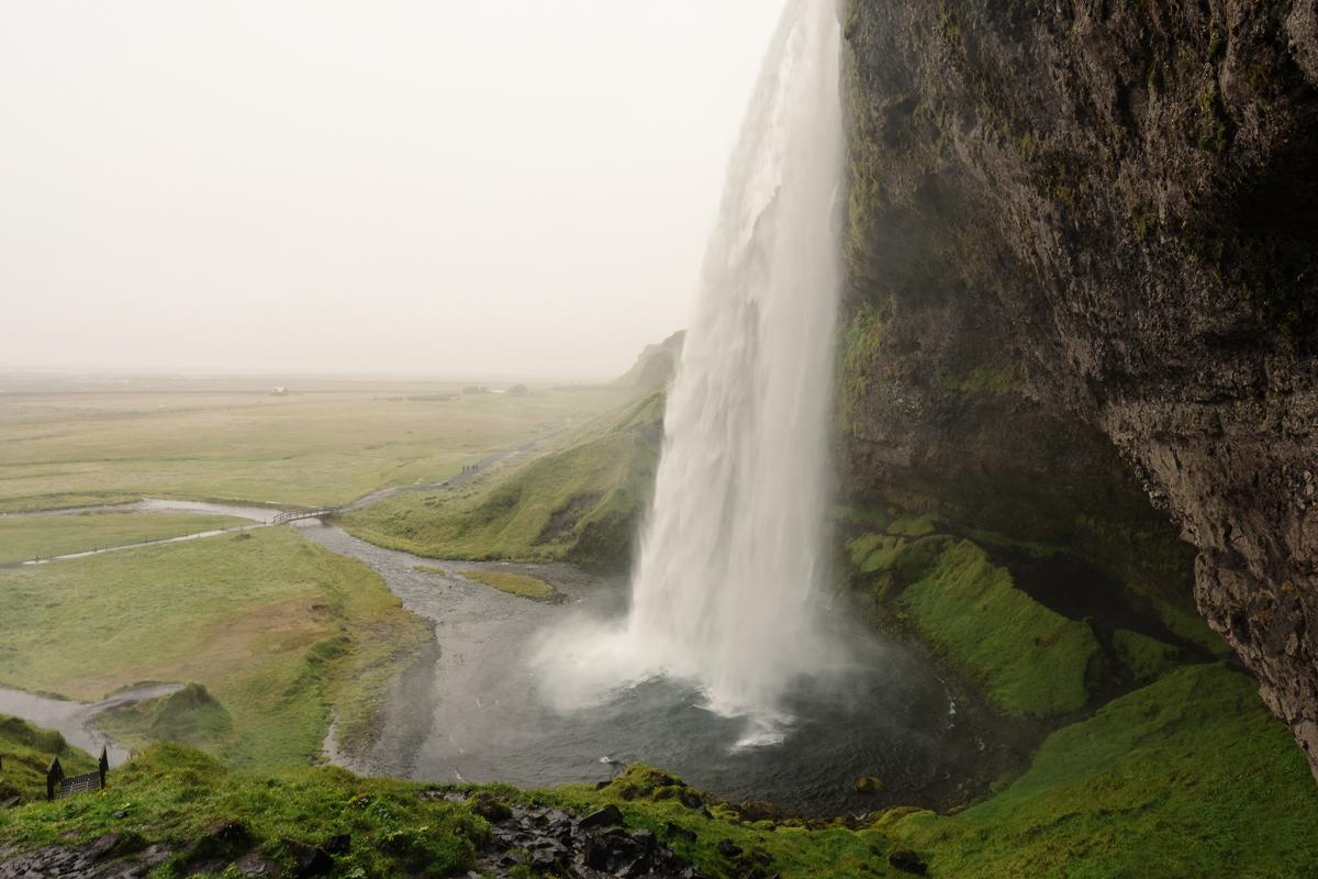 Regen, Nebel, Island