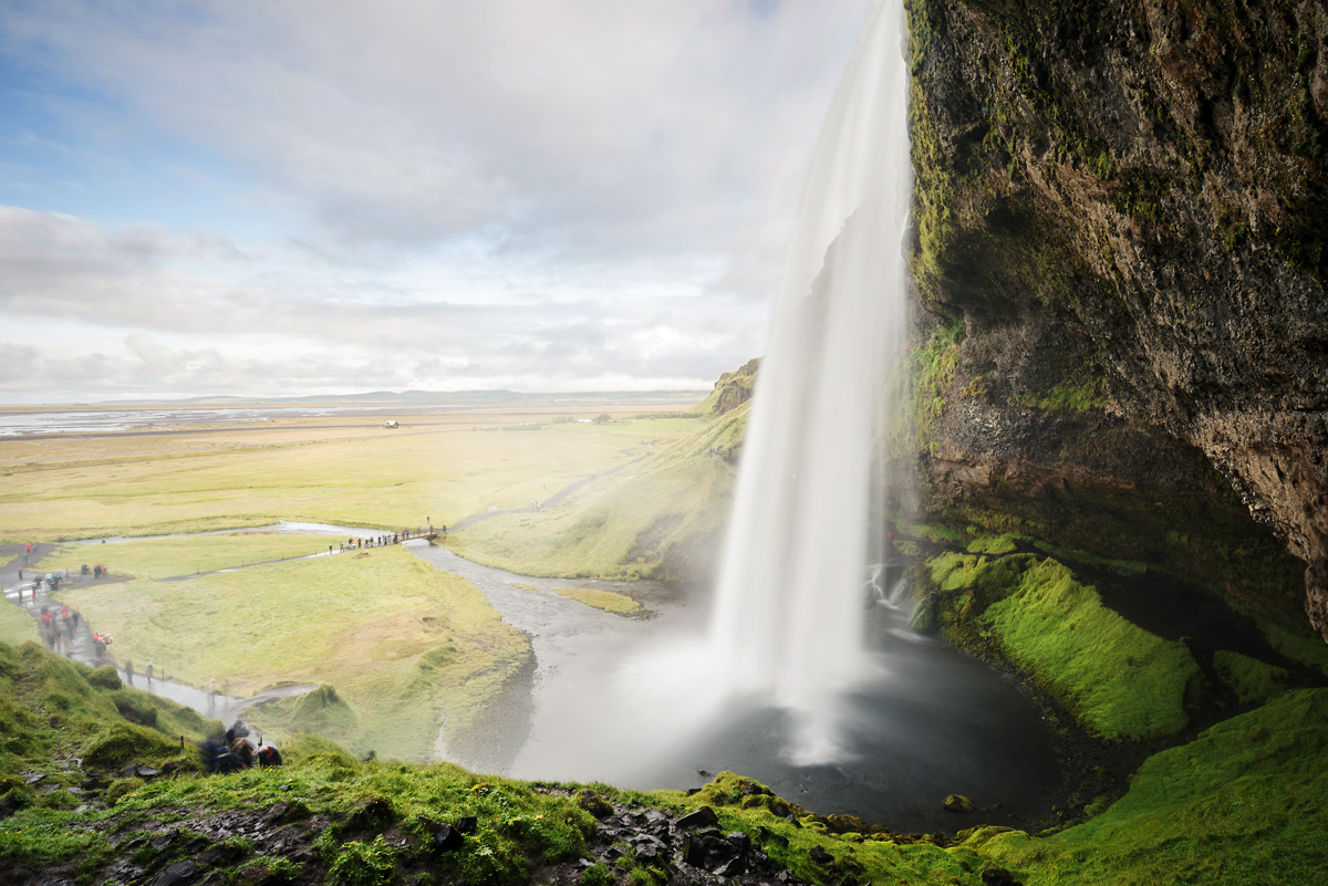 berühmter Wasserfall