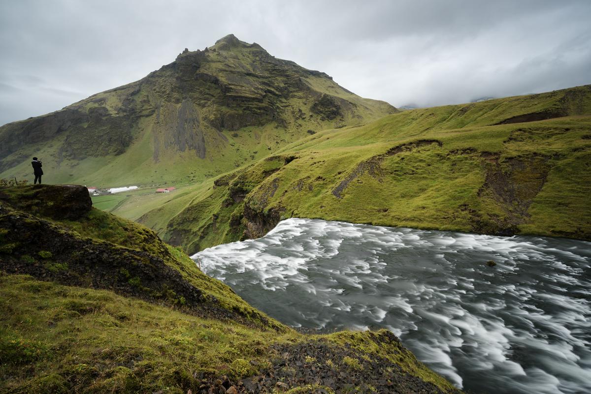 Berg Fluss