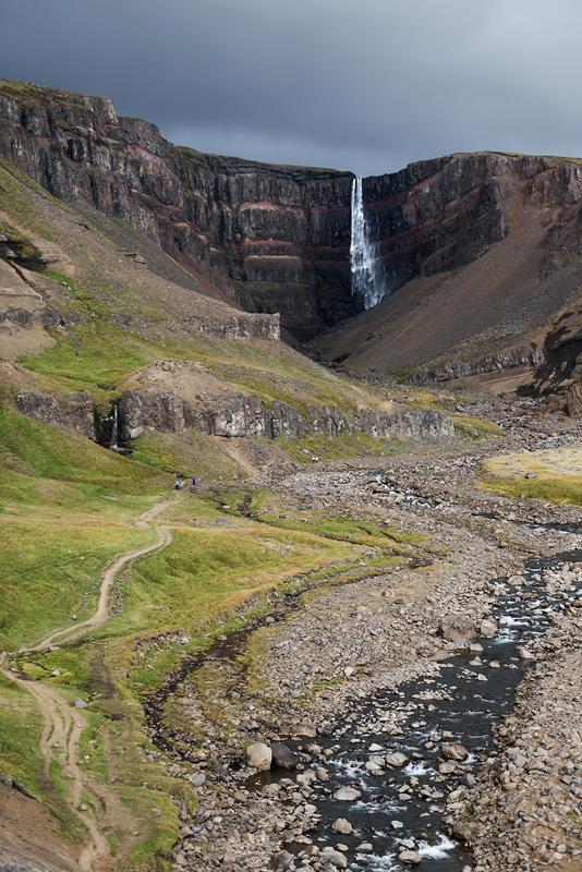 Wasserfall Island