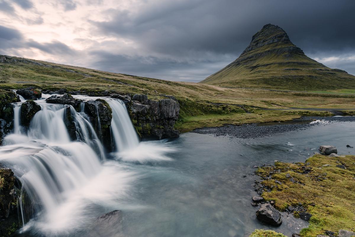 fineart Wasserfall
