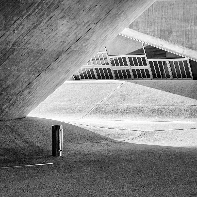 Phaeno Wolfsburg Licht und Schatten
