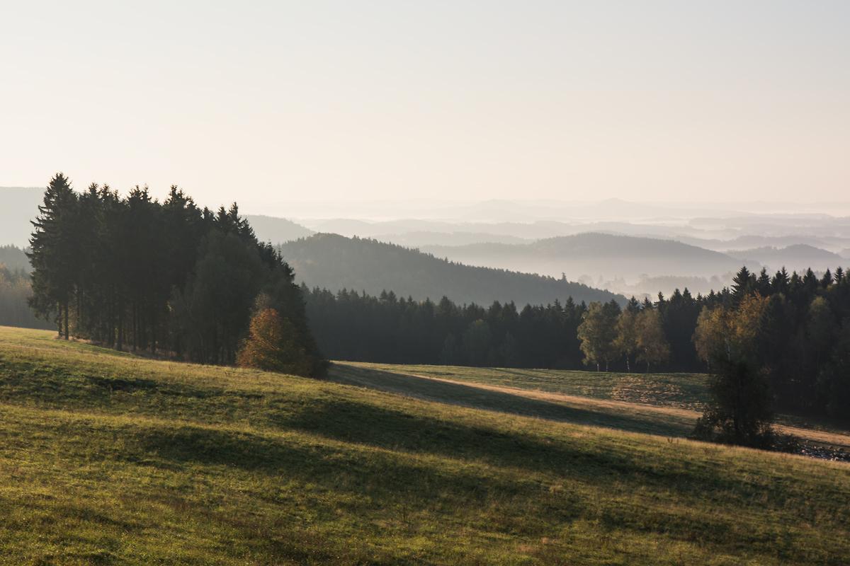 Lückendorf Sonnenaufgang