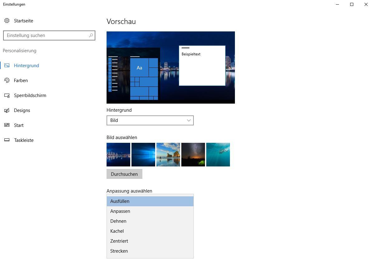Windows 7 2 monitore desktop hintergrund